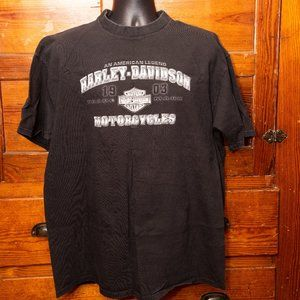 Harley-Davidson black Aces and Eights tee